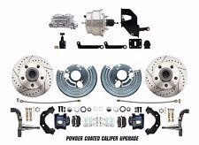 1962-1972 Dodge Challenger/Charger B&E Body Disc Brake Kit Chorme Booster Kit