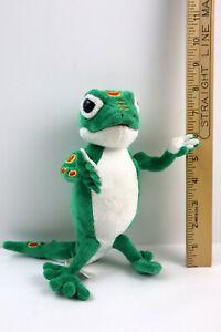 """Geico Gecko 8"""" Plush Stuffed Animal Lizard by Geico Zipper Pouch"""