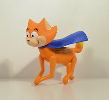 "2004 Talking Light-Up Streaky Supercat Cat 8"" Action Figure DC Krypto Superdog"