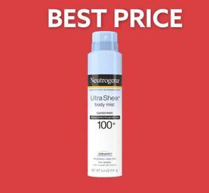 Neutrogena Ultra Sheer Body Mist Spray SPF 100+ - 5 Oz FREE Shipping🔥Best Price