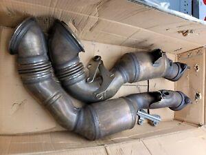 2007-2010 BMW N54 335i 135i OEM Downpipes catalytic converters RWD (30K MILES)