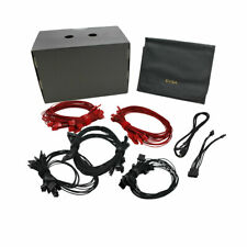 G1 Red Power Supply Cable Set (Individually Sleeved)