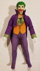 "RARE Vintage Mego 8"" inch FIST FIGHTER JOKER Action Figure w/ Outfit & Jacket"