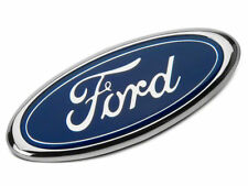 "FOR FORD TRUCK FRONT HOOD GRILL GRILLE EMBLEM LOGO OVAL SYMBOL SIGN 7"" blue BLK"