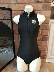 Rip Curl Women G Bomb 1 mm  Springsuit Wetsuit WSP6HW  Size 4