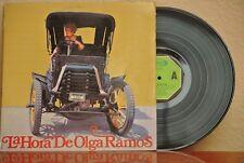 OLGA RAMOS LA HORA DE SPANISH LP SPANISH SPLIT ON COVER BURLESQUE