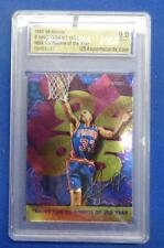 1995-96 HOOPS GRANT HILL ROOKIE OF THE YEAR CARD - MINT 9.0 - #SC169