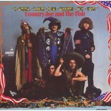 country joe mcdonald and fish - i feel like ... ( 1967 )  -  digipak edition CD