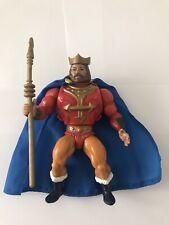 Vintage He-Man MOTU Complete King Randor Action Figure - 100% Original