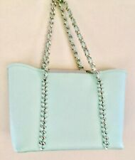 TED BAKER AQUA TOTE BAG WITH CLUTCH PURSE EXCELLENT CONDITION