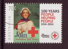 Francobolli usati, con soggetto la croce rossa