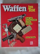 Waffen im Test - Hand und Faustfeuerwaffen auf dem Prüfstand    GS