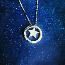 2 in 1 Marvels Captain America Silver Necklace Pendant Avengers Accessory Gift