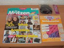 Simply Stricken Spezial 2 Hefte + Kunstfellbommel Ausgabe 1/2017 NEUWERTIG!