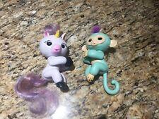 Fingerling Zoe Light Blue Gigi White Unicorn Works