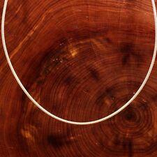 collar de plata maciza