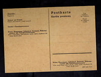 1941 Germany GG Zakopane Postcard cover Poland Unmailed