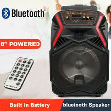 1000W Tragbar Bluetooth Lautsprecher FM SD USB Subwoofer Soundsystem Boombox