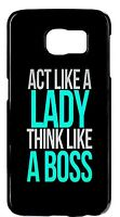 For Samsung Galaxy Note 5/4/3/2 Cute Funny Inspirational Women Quote Cover Case