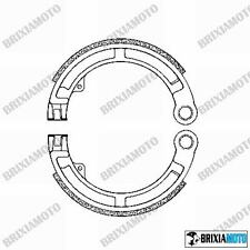 COUPLE OF FRONT DRUM BRAKE SHOES SHOE PIAGGIO 125 Vespa Super (VNC1T) 66/68