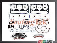 Fit 96-06 GM 4.3L Vortec Cylinder Head Gasket Set w/ Bolts Kit 4300 CPI engine