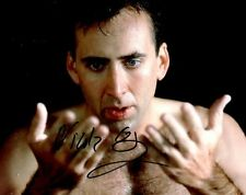 NICOLAS CAGE SIGNED 8x10 PHOTO AUTHENTIC AUTOGRAPH GHOST RIDER THE ROCK CON AIR