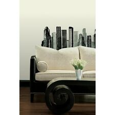 CITYSCAPE Giant Wall Stickers Mural SkyScraper Buildings City Room Decor Decals