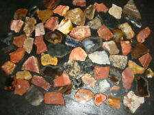 NICE LOT OF AGATE JASPER MISCELLANEOUS SLABS    7  1/4 +  POUNDS