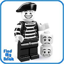 2 X 1 HAT FOR THE MIME FROM SERIES 2 VERY RARE PARTS LEGO-MINIFIGURES SERIES 1
