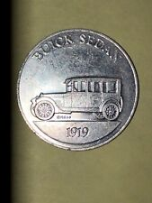 Sunoco DX Antique Car Coin Series 1 Buick Sedan 1919 Token Issued 1968