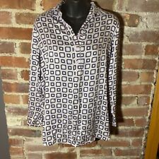 A Pea in the Pod / ET VOUS Collaboration Silk Maternity Tunic S