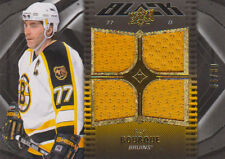 09-10 UD BLACK JERSEY xx/99 Made! Ray BOURQUE #4 - Bruins