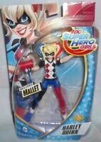 "DC Super Hero Girls 6"" HARLEY QUINN Action Figure Doll DC Comics 6+ New sealed"