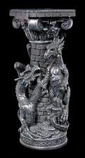 Große Drachen Säule - Fantasy Gothic Statue Dekosäule