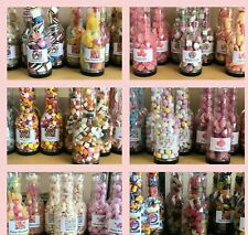 Retro Sweet Shop Style Plastic Bottles with Sweets included - Wedding - Party