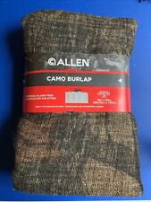 Allen Camo Burlap Blinds Material Tree Stands Duck Blinds 12ft x 54in Hunting