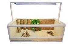 Terrarium für Landschildkröten - Schildkröten Terrarium   - Grösse: 120x60x40cm