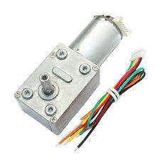 GM4632-370 DC 12V 30RPM High torque Turbo Encoder Motor Worm Geared Motor Reduce
