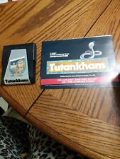 Atari 2600 Tutankhamun With Manual