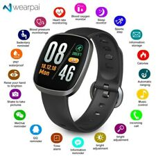Bluetooth Smart Watch Sport Fitness Tracker Blood Pressure Monitor Men Women