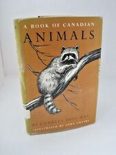 A Book of Canadian Animals by Charles Paul May -Vintage Copy