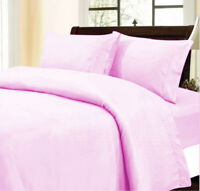 Supreme Duvet Collection 1000 Thread Count Pink Solid Select Item & AU Size