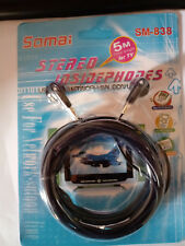 Auriculares estereo 5 m TV  mp3