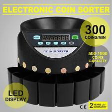 Monedas Automático Hucha Contadora de Monedas con Pantalla LED