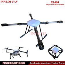 INNLOI 1400mm Quadcopter Aluminum folding Frame Agriculture UAV Industry Drone