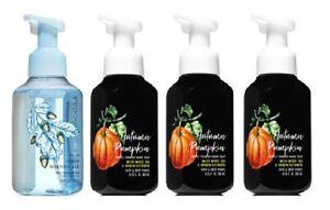 Bath & Body Works Autumn Pumpkin & Crisp Morning Air Foaming Hand Soap x4