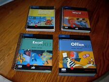 Microsoft Excel, office, word, & projects 2003 books