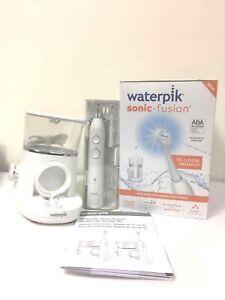 Waterpik Sonic Fusion Toothbrush White Electric Model SF-01 White DENTED BOX