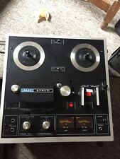 AKAI Stereo Reel-to-Reel Tape Recorder - Model: 1721L - Leather Case + Manual