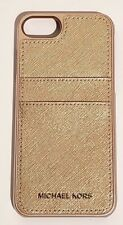 Michael Kors Saffiano Leather Phone Case for iPhone 8/7/6S/6 - Rose gold